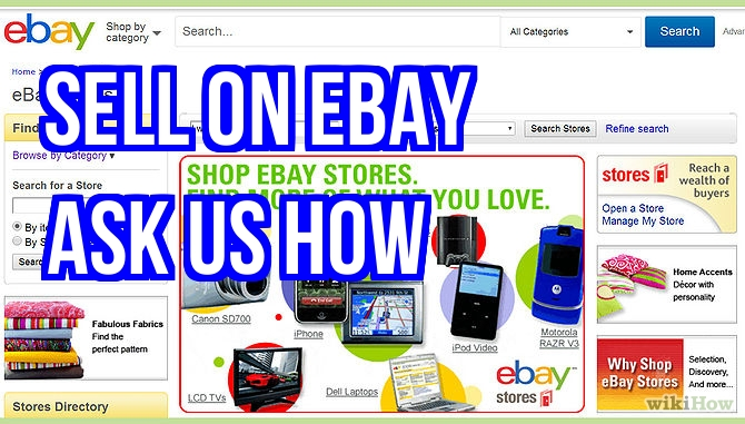 Sell on Ebay | Venda en EBAY - Los Angeles Ca | Roman Rivera Services