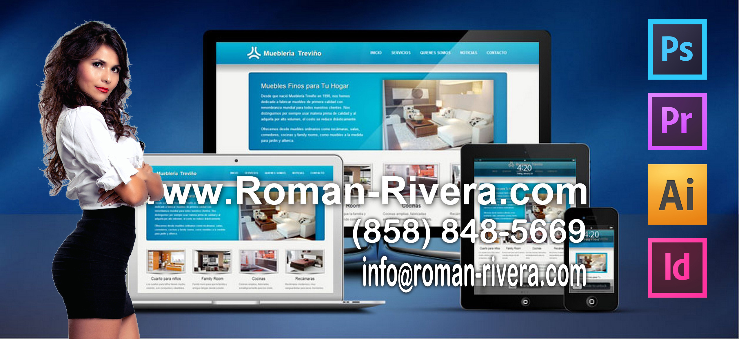 Roman Rivera | Los Angeles, California | Magazine Creators, Website Design, Logo Design, Business Consultant